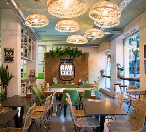 Raw Coco Green Bar Madrid: el paraíso de los cocos