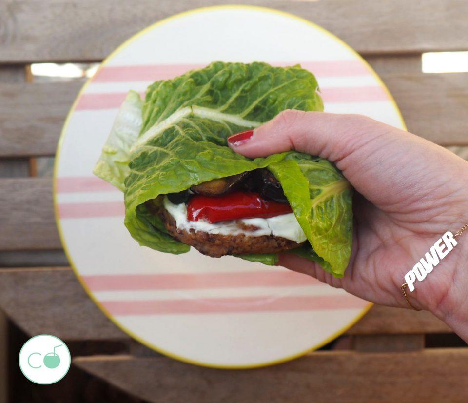 como hacer hamburguesa vegana receta